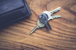 sleutels woning
