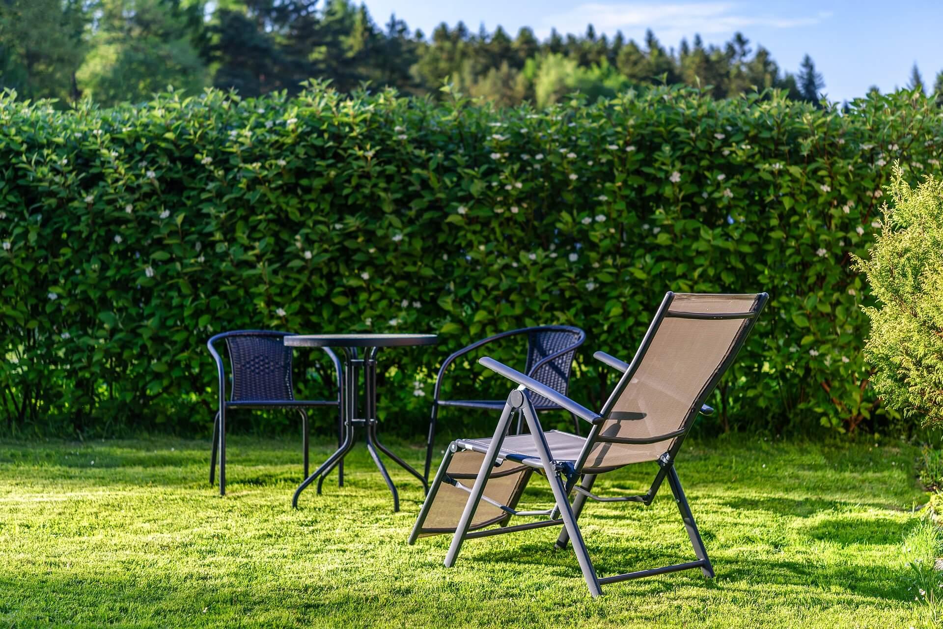 vakantiegevoel in de tuin