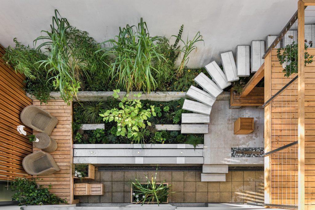 Ook in een kleine ruimte past een creatieve tuin