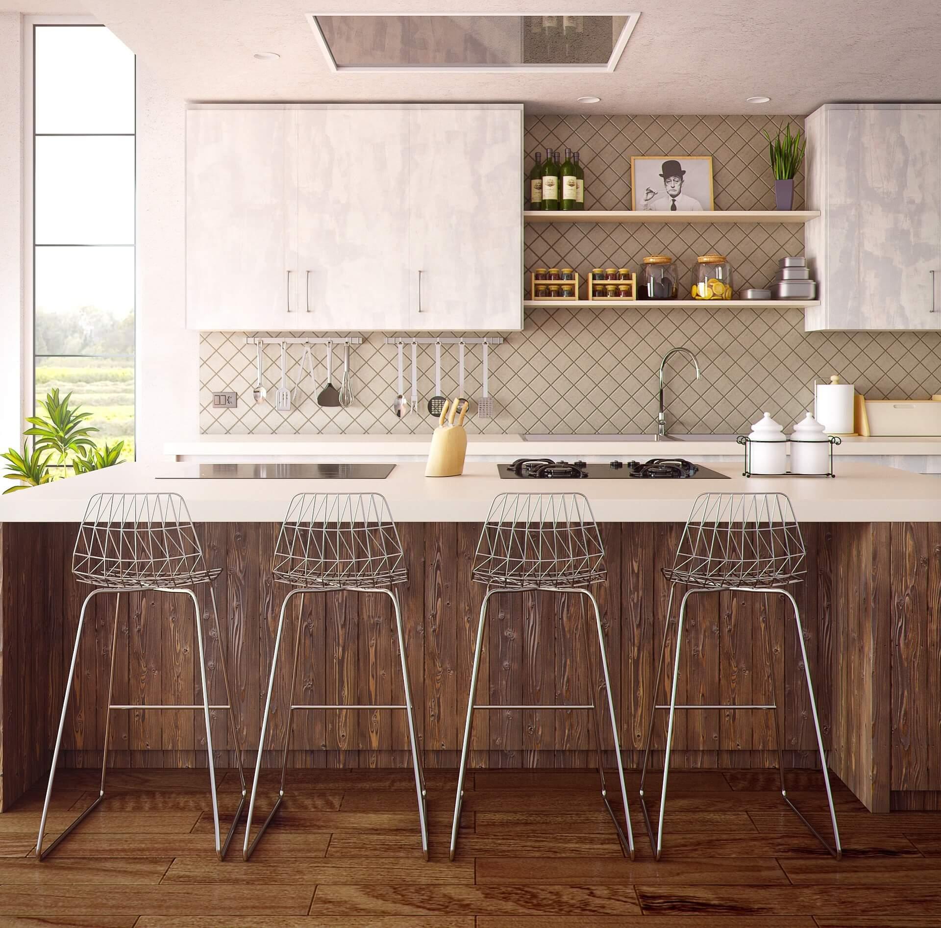 Een woonkeuken is vaak een centrale plek in de woning