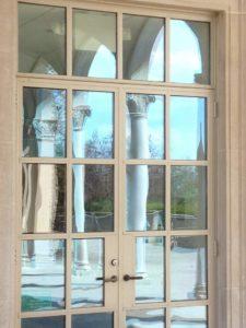 stijlvolle dubbele deuren